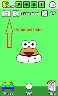 Pou Mod Apk koin tidak terbatas