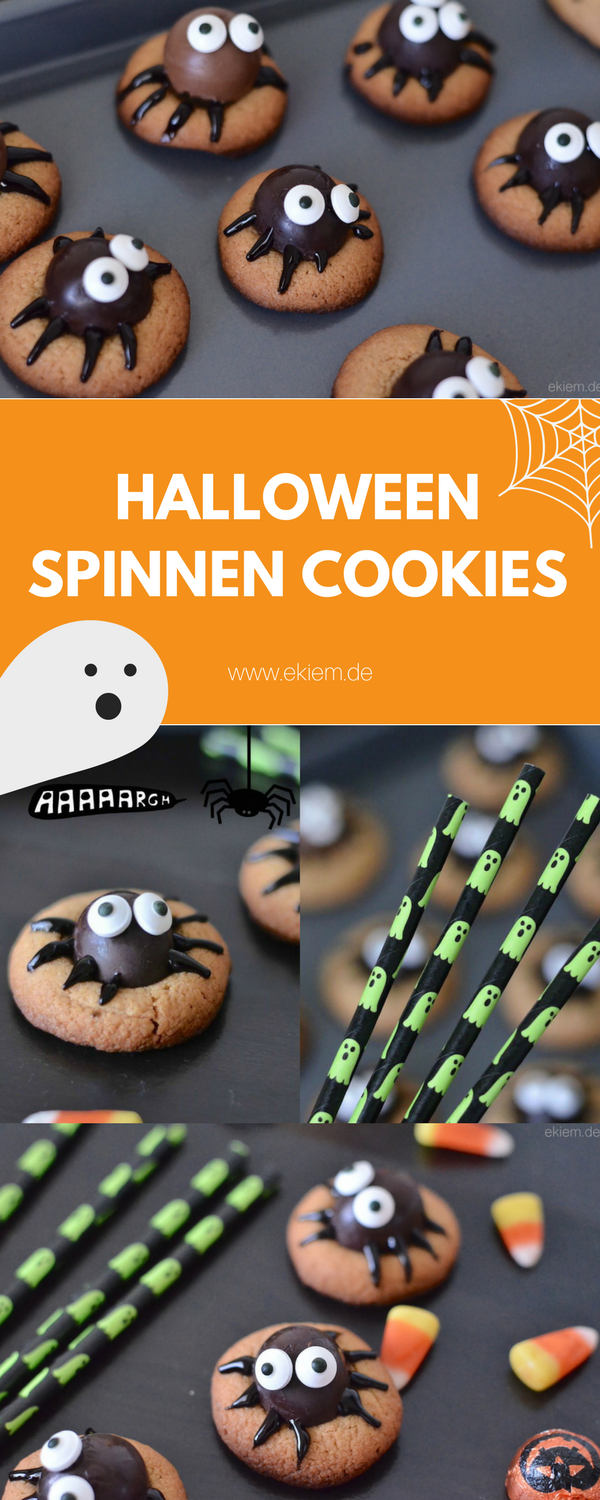 HALLOWEEN SPINNEN COOKIES