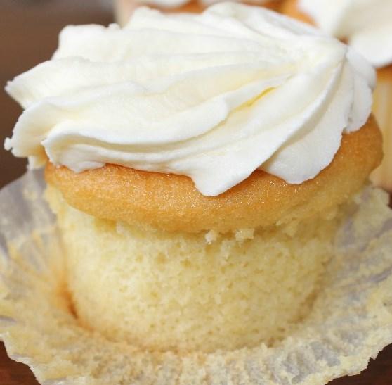 Vanilla Paleo Cupcakes Recipe (Gluten-Free And Dairy-Free) #healthydessert #healthy