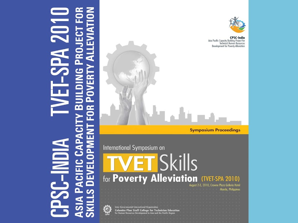Proceedings of the 1st International Symposium on Skills Development for Poverty Alleviation