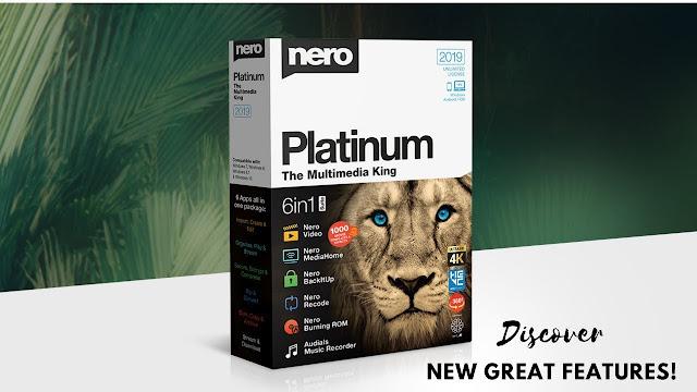 Nero Platinum 2019 v20  Full Patch