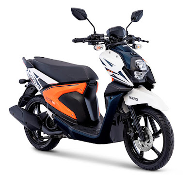 All New X-Ride Freedom White (putih oranye)