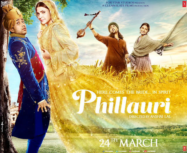 Phillauri , Phillauri Anushka Sharma, Phillauri Poster, Phillauri First Look , Phillauri Pics , Phillauri Images, Phillauri Pictures