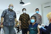 Universitas Tangerang Raya Bersama Polresta Tangerang Gelar Vaksinasi Tahap I dan II