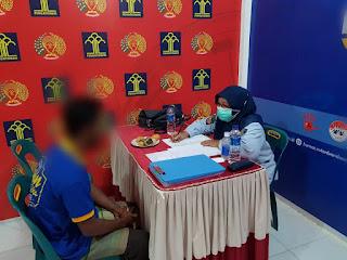 Penuhi Hak Warga Binaan, PK Bapas Ambil Data Litmas