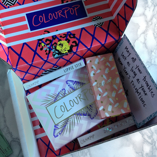 ColourPop Cosmetics Haul and Review