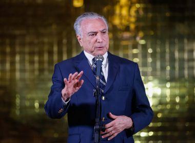 Temer é cotado para assumir embaixada do Brasil na Itália, diz jornal