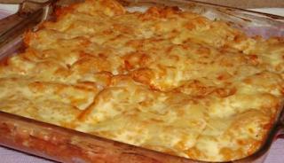 Φτιάξτε πεντανόστιμες πέννες στο φούρνο με κασέρι!