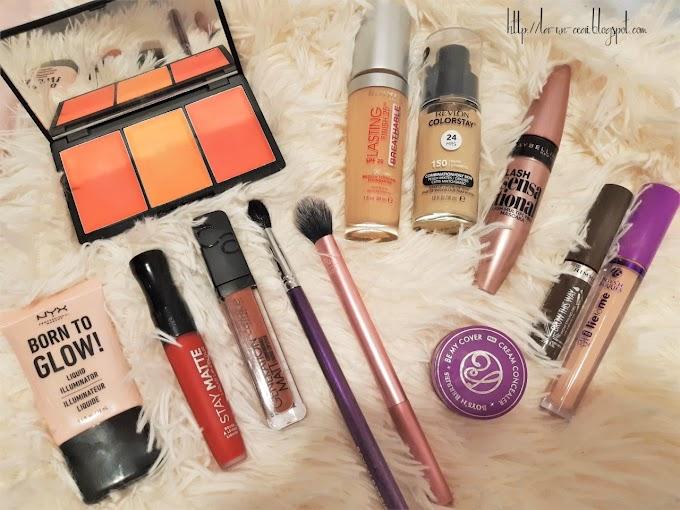 Haul de make-up cu produse cumparate în ultimele doua luni