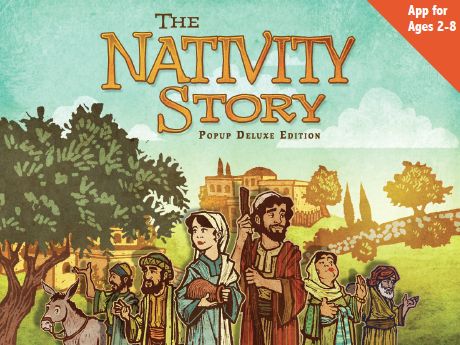 Keep Christ in Christmas with 'The Nativity Story' App {A Holiday Gift Guide Review}