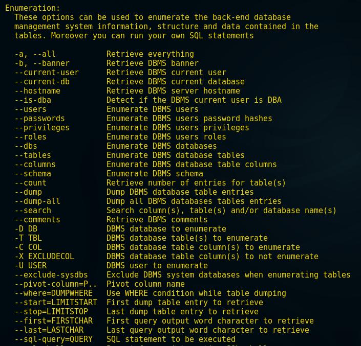 Database Penetration Testing using Sqlmap (Part 1)