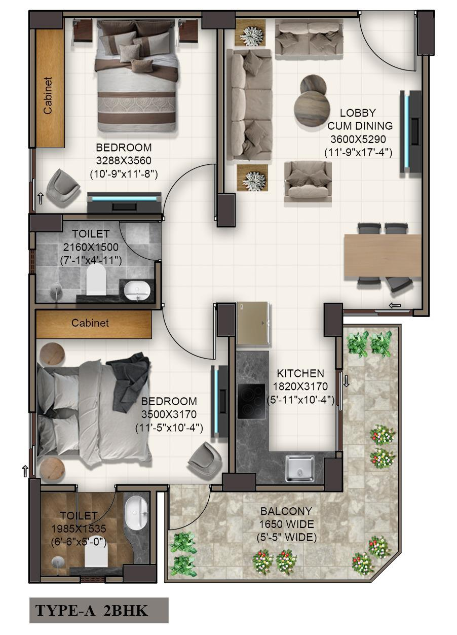 Advitya Homes Floor Plan