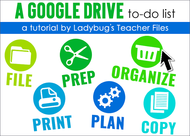 Tips on using a Google Drive to-do list.