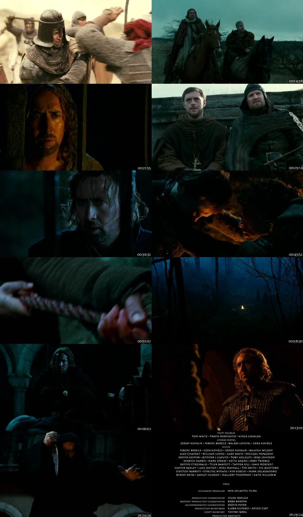 Season Of The Witch 2011 BRRip 480p 300Mb