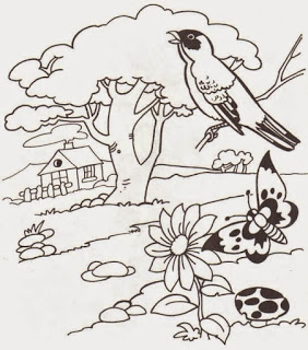 Imagenes de dibujos de amor y caricaturas para pintar y colorear