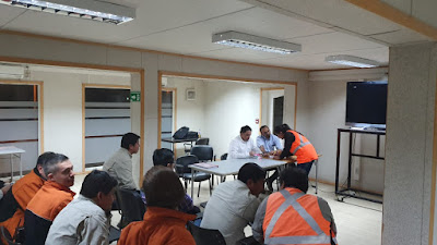 Tras exitoso proceso de elecciones, quedó conformado el Sindicato de Supervisores de Caserones