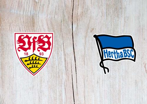 Stuttgart vs Hertha BSC -Highlights 13 February 2021