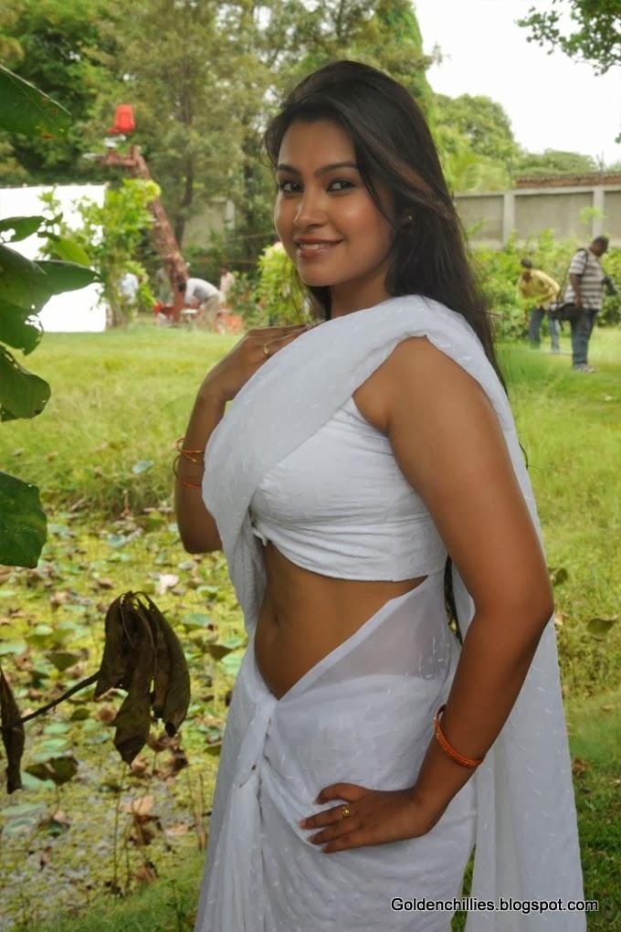 tamil actress unseen spicy stills in low waist saree stills