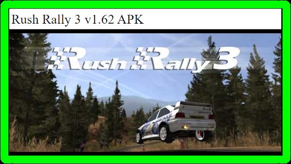 Rush Rally 3 v1.62 juego Apk![Pagado]