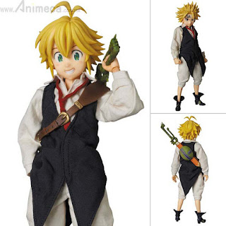 FIGURA MELIODAS REAL ACTION HEROES No.709 The Seven Deadly Sins Medicom Toy