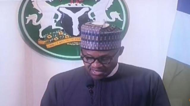 Breaking: Buhari declares curfew in Lagos, Abuja, Ogun