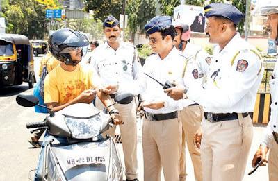 Mumbai Traffic Police E-Challan