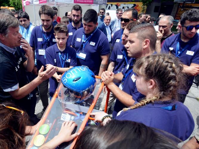 El vehículo eléctrico de Somorrostro gana la carrera de EUSKELEC