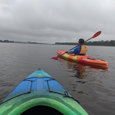kayaking on the Blackwater River
