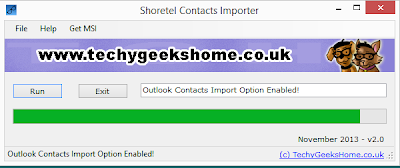 Shoretel Contacts Importer v2.0 Released 2