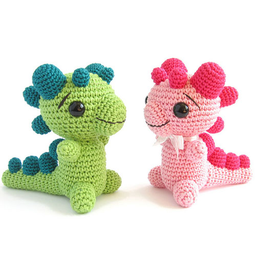 Baby Dragon - Free Pattern