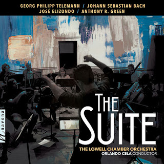 The Suite - Telemann, Bach, Elizondo, Green; Lowell Chamber Orchestra, Orlando Cela; Navona Records