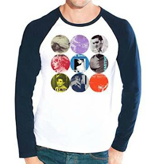 The Smiths album covers baseball shirt for men