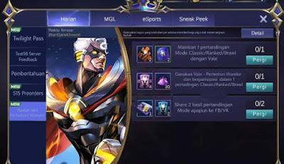 Bocoran Skin Terbaru Hero Vale Mobile Legends