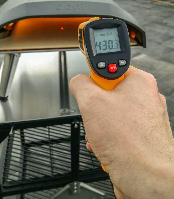 Temperatura raggiunta con Ooni Koda 16