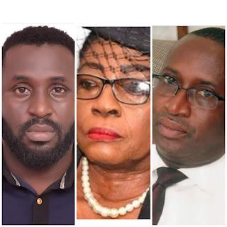 L-R: Michael Abuo, Akon Ikpeme, Victor Ndoma-Egba