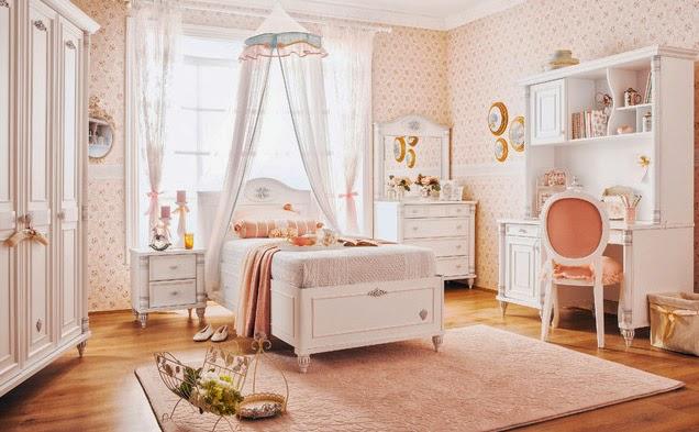 Dormitorios para ni as tema princesas dormitorios - Dosel cama nina ...