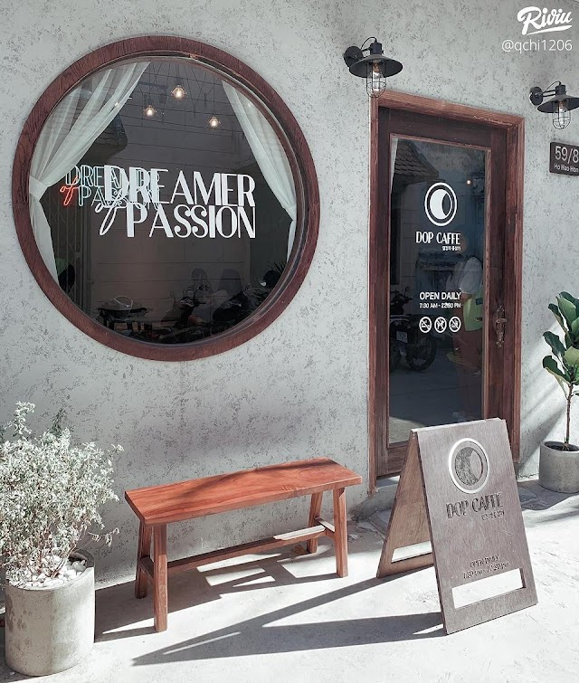 DOP Caffe - Quán Cafe nhỏ xinh tông Vintage