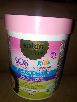 Ativador SOS kids Salon line