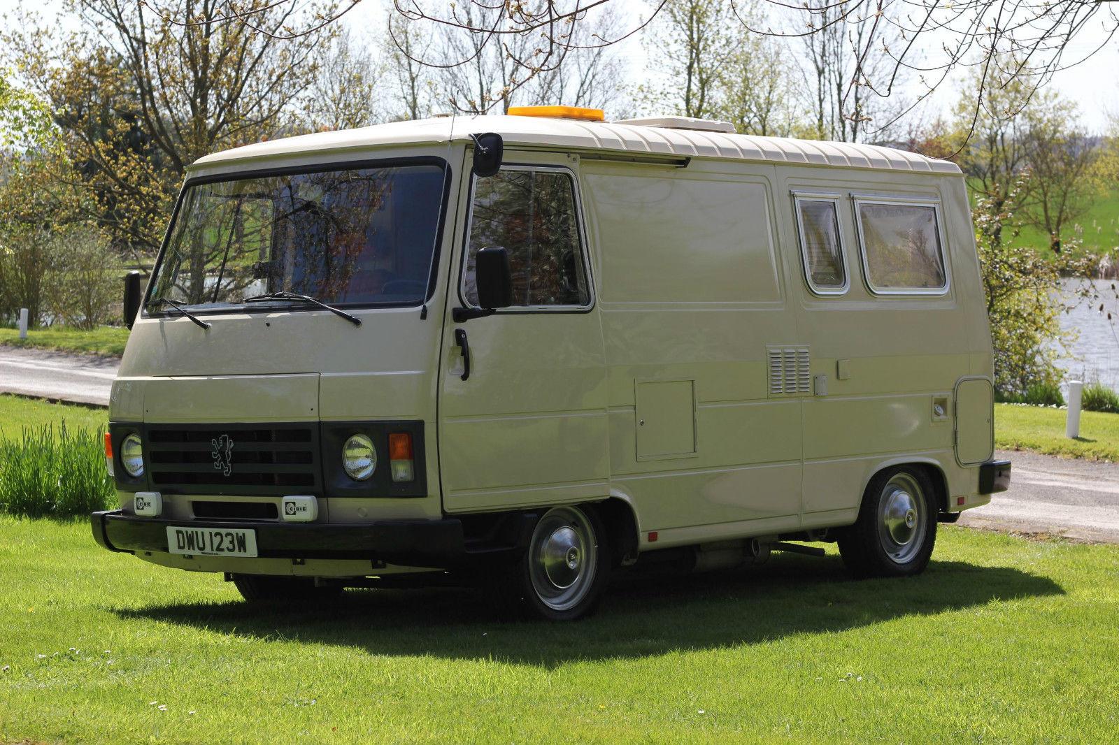 Rare Peugeot J9 Campervan - RV & Camper