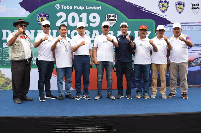Dandim 0207/Simalungun Apresiasi Pelaksanaan Danau Toba Rally Kejurnas Putaran Ketiga di Parapat