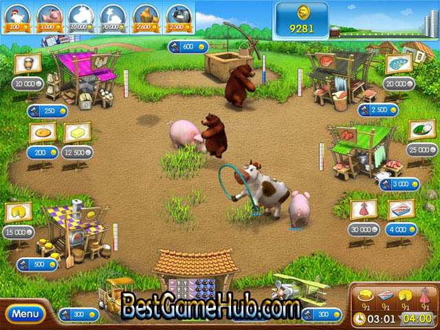 Farm Frenzy 2 High compressed Game Free Download