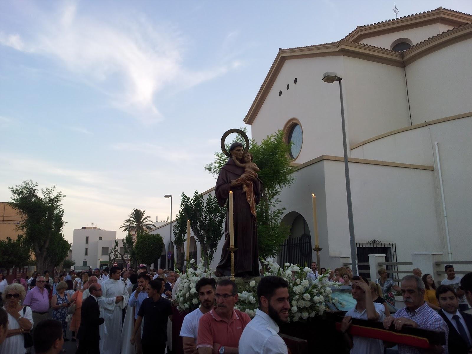 Hermandad del encuentro san antonio de padua recorri for Casa ciudad jardin almeria