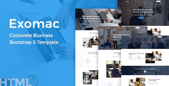 Best Corporate Business Bootstrap 5 Template