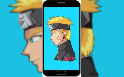 Naruto Uzumaki - Fond d'Écran en FHD pour Mobile