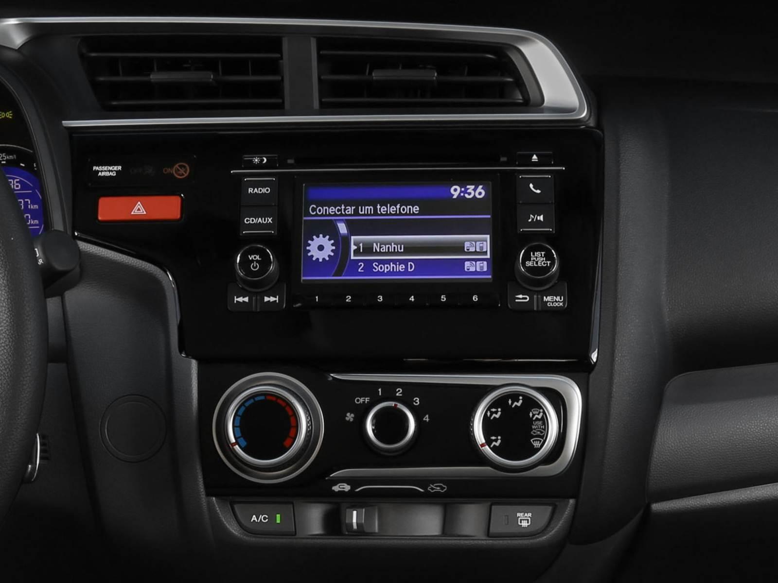 Superb Novo Honda Fit 2015   Sistema Multimídia