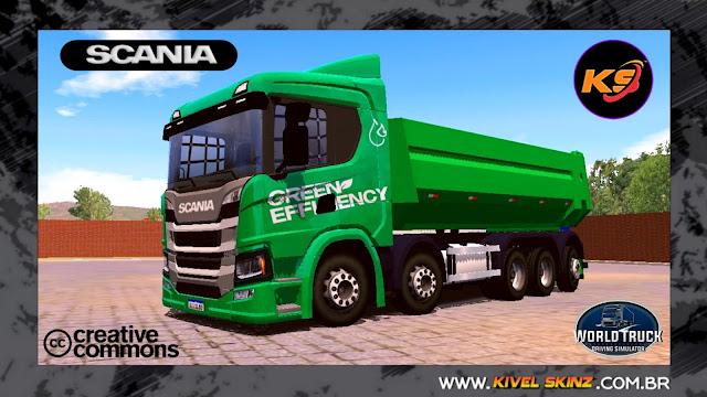 SCANIA P320 CAÇAMBA - GREEN EFFICIENCY