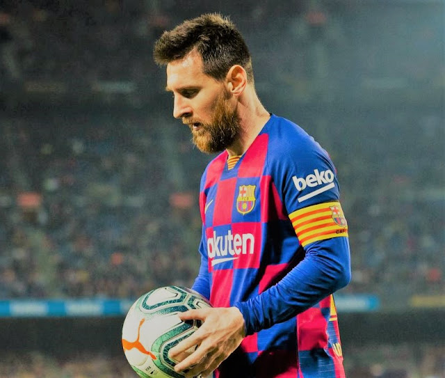 Sports: Messi Reacts To 3-2 Loss To Atletico Madrid