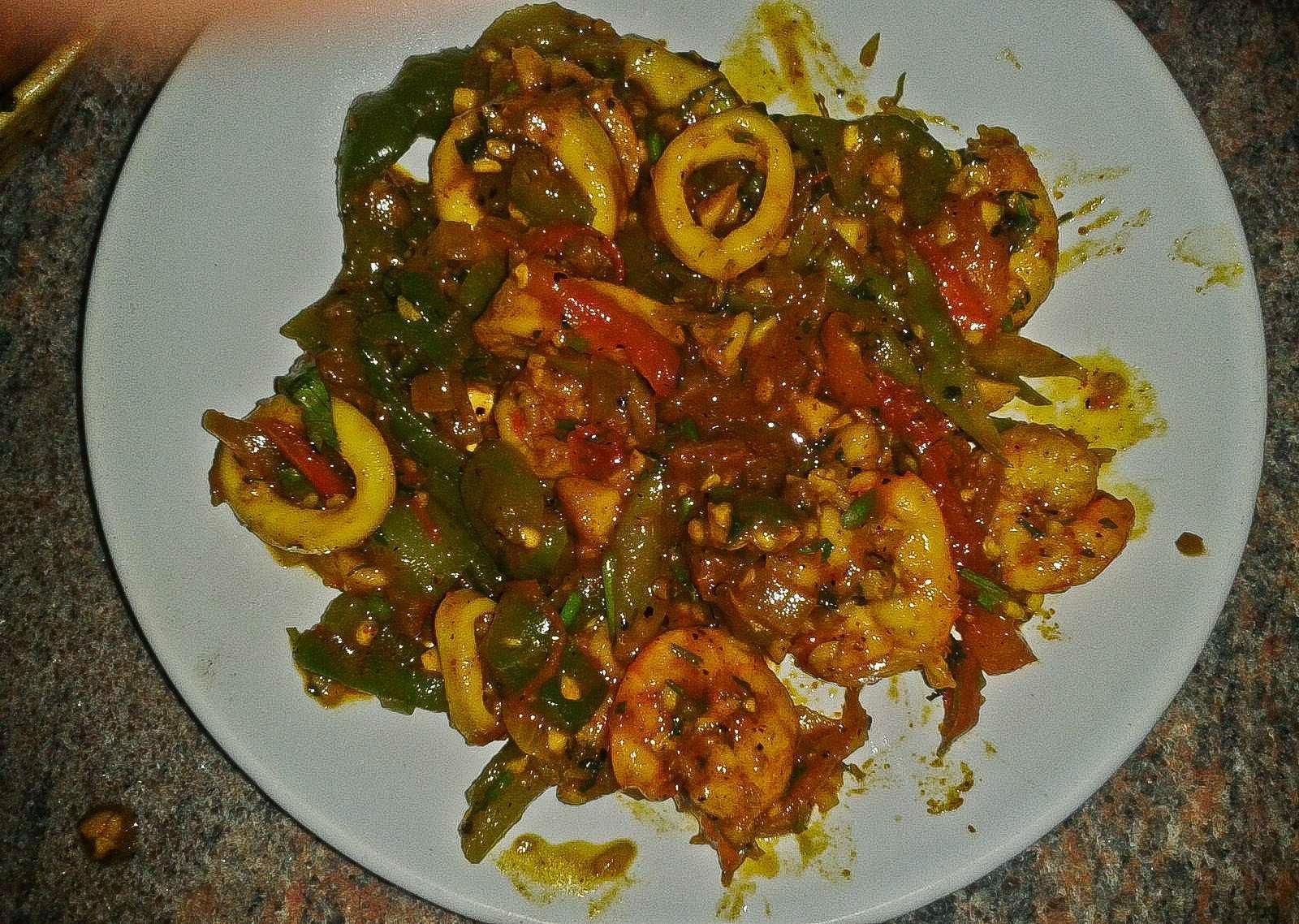 Foodaholix Agonda Goa Mixed Seafood Fry