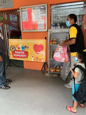 pantri komuniti, #AyamWithU, Anjung Singgah, Pertubuhan Kebajikan Kasih Nurul Hasanah, ayam brand