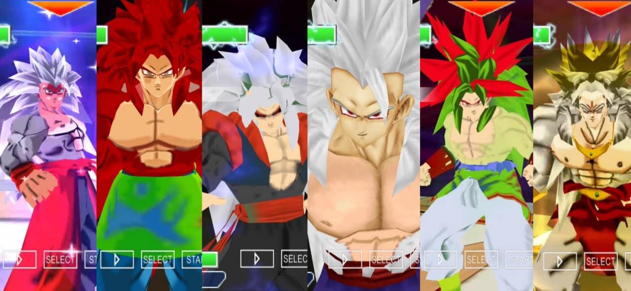 Dragon Ball AF DBZ TTT Mod BT3 PSP